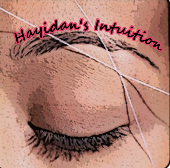 How To Thread Your Eyebrows Hayidans Intuition